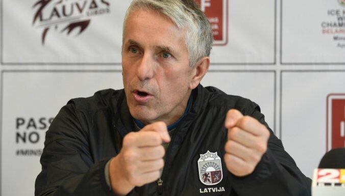 Хартли назвал вратарей, которые сыграют за сборную Латвии на чемпионате мира