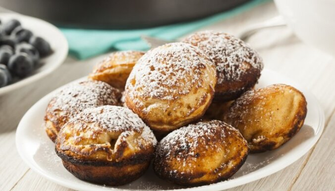 Рождественские датские блины - пончики Aebleskiver