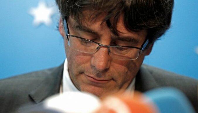 Vācijā aizturēts bijušais Katalonijas prezidents Karless Pudždemons