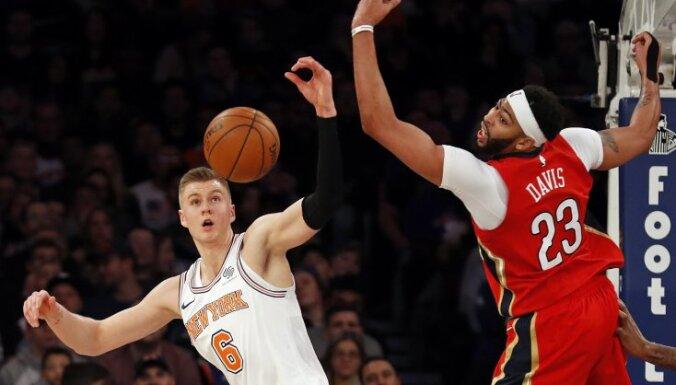 """Чемпионат НБА: Порзиньгис провел отличный матч против """"Нью-Орлеана"""""""