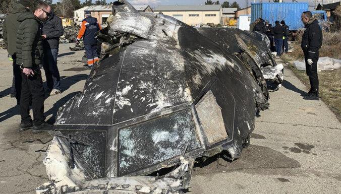 Kijevā jau 8. janvārī zināja, bet klusēja, ka lidmašīna Irānā ir notriekta