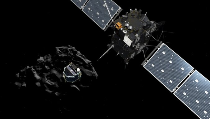 ФОТО: Впервые в истории совершена посадка на поверхность кометы