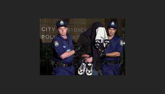 Задаржанный полицией злоумышленник