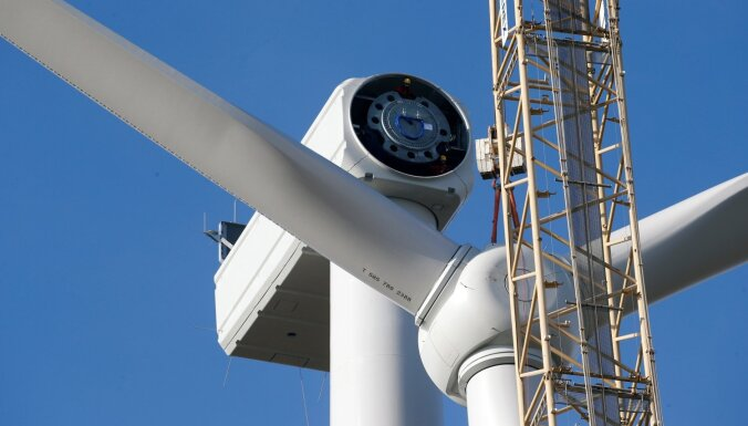 Līdz 2030. gadam Latvijā plānots uzstādīt 110 vēja elektrostaciju