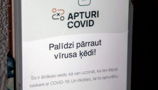 Mājsaimniecībā kontaktus nefiksē: SPKC par iedzīvotāju problēmām ar lietotni 'Apturi Covid'