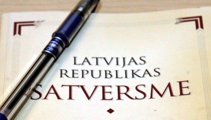 Konferencē diskutē par Latvijas valsts pamatiem Satversmes preambulā. Video tiešraide noslēgusies