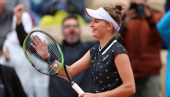 Sevastovas pāridarītāja Vondrušova un Bārtija pirmo reizi sasniedz 'Grand Slam' finālu