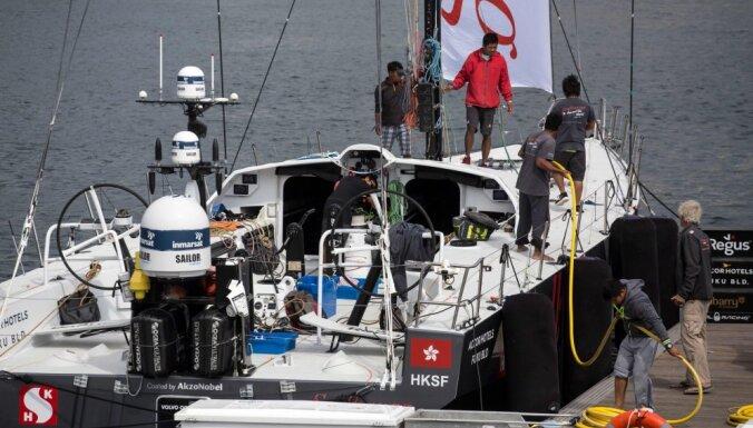 Дебютант кругосветной регаты Volvo Ocean Race выпал за борт и потерялся в океане