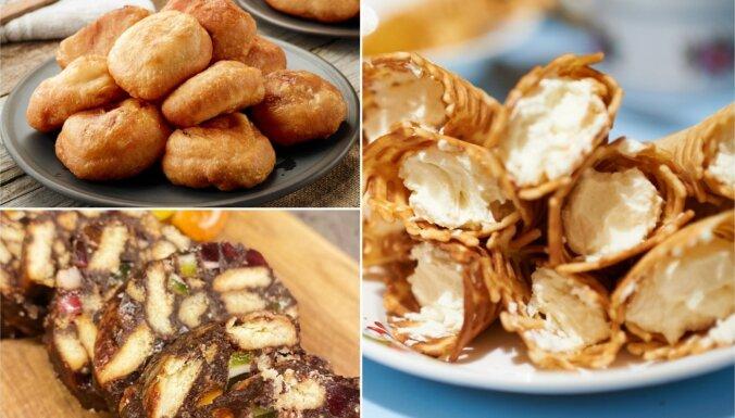 Ģimeniski un ar bērnības garšu – svētku ēdienu lielā kolekcija