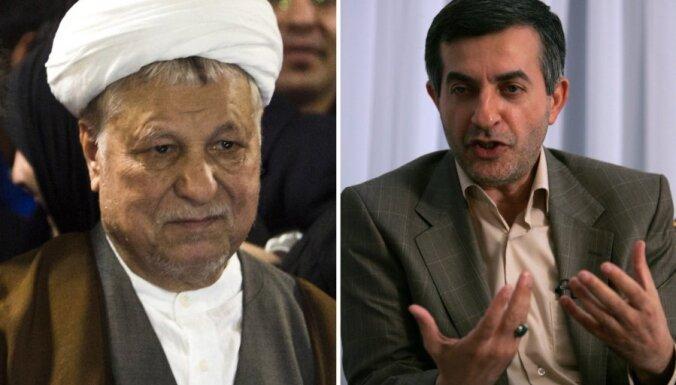 Irānā no prezidenta vēlēšanu sacīkstes izslēgti divi spēcīgi kandidāti