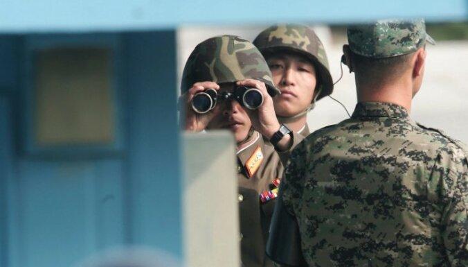 Rinkēvičs: jārēķinās ar Ziemeļkoreju kā kodolvalsti; pēc varas maiņas to nopietni analizē