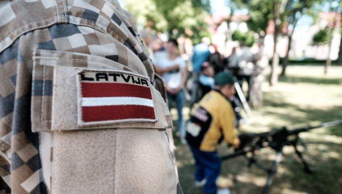Latvijas armijas vēsturē pirmo reizi pulkveža pakāpe piešķirta sievietei