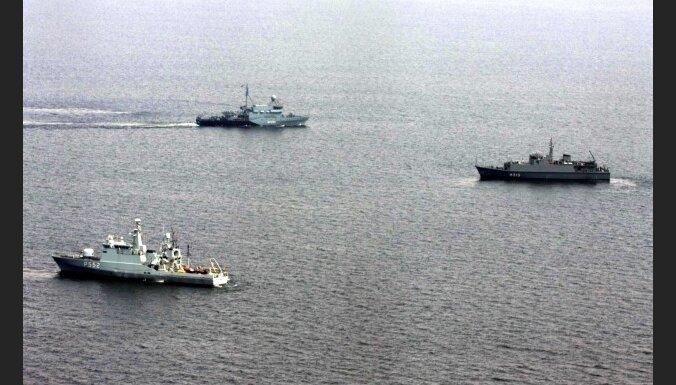 Nord Stream начал разминирование Балтийского моря