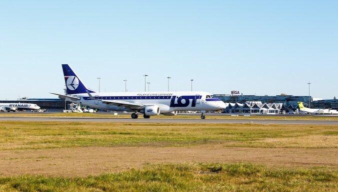 Польская авиакомпания LOT возобновляет полеты из Риги