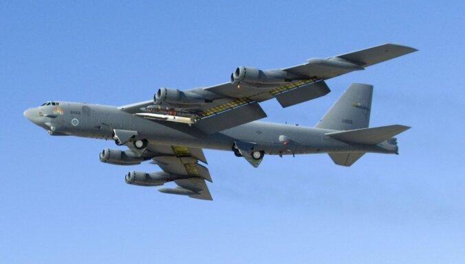 ASV Eiropā izvieto stratēģiskos bumbvedējus B-52