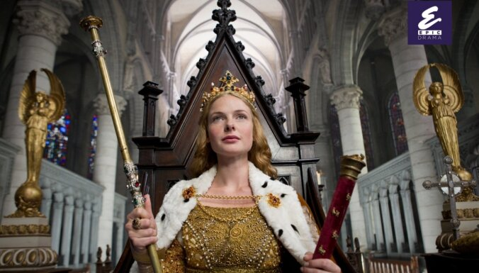 Zelta globusam un 'Emmy' nominētais seriāls 'Baltā karaliene' jau drīz 'Epic Drama'