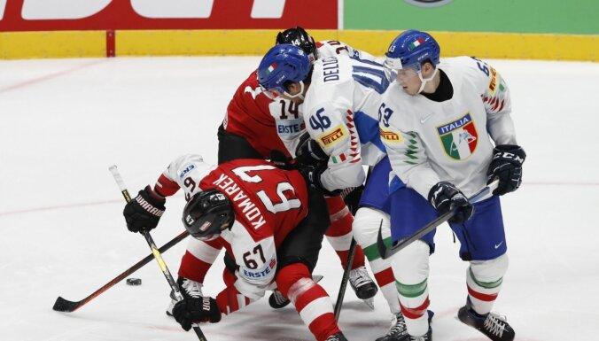 Itālijas hokeja izlasē diviem hokejistiem Covid-19; viens gadījums arī Vācijas valstsvienībā