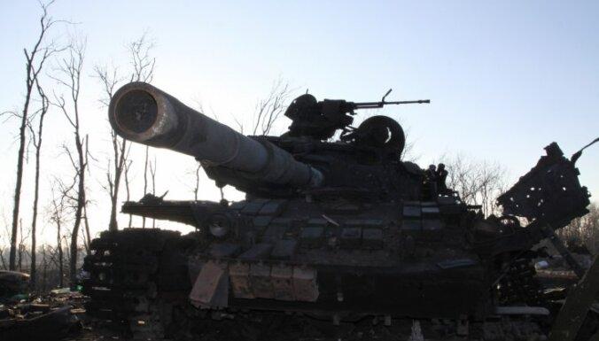 Aizvadītās diennakts laikā Ukrainā krituši divi karavīri