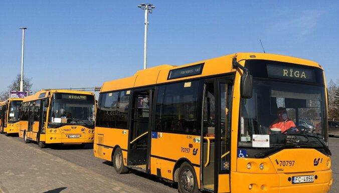 Автобусы Rīgas satiksme будут доставлять репатриантов домой только в пределах Риги