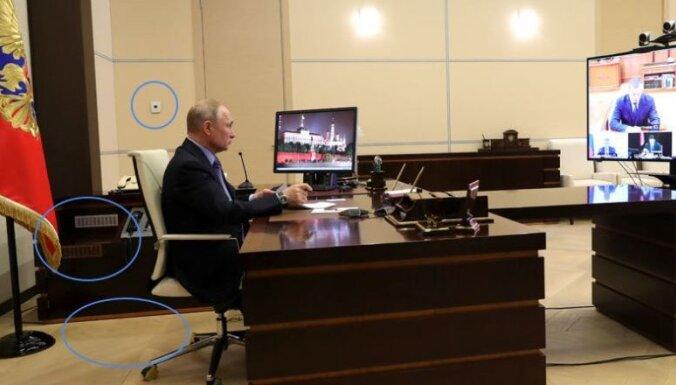 Putina vienādie kabineti: soctīklu lietotāji aktīvi meklē atšķirības