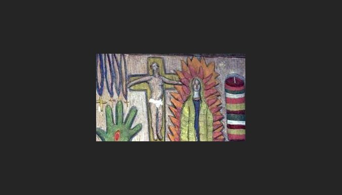 Sienas gleznojums ar Jēzu