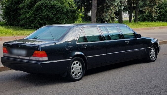 Лимузин Mercedes-Benz Ельцина продан за 280 тысяч евро