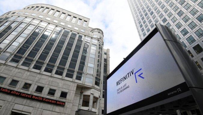 EK apstiprina Londonas akciju biržas ieceri pārņemt ASV finanšu datu sniedzēju 'Refinitiv'