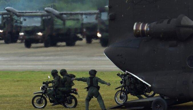 Ķīna aicina Japānu izvairīties no reģionālā miera un drošības graušanas