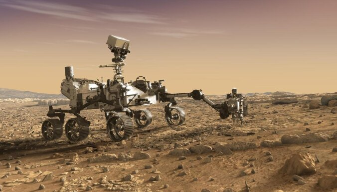 Miljardi par riekšavu iežu. Ambiciozais plāns nogādāt uz Zemes gabaliņu Marsa