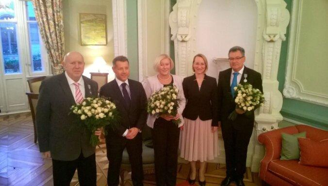 LMA rektoram Aleksejam Naumovam piešķirts Ordenis mākslā un literatūrā
