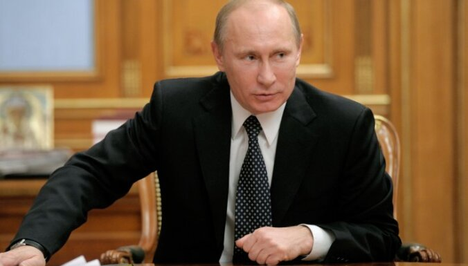 Putins: Krievijas mērķis Sīrijas konfliktā ir samierināt visas konfliktējošās puses
