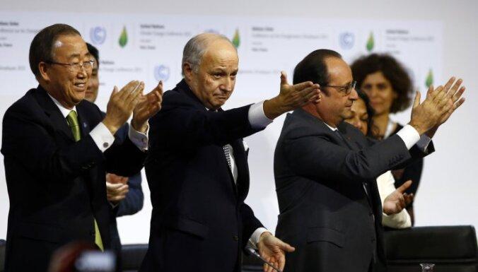 Историческое соглашение: все страны обязались сократить выбросы СО2