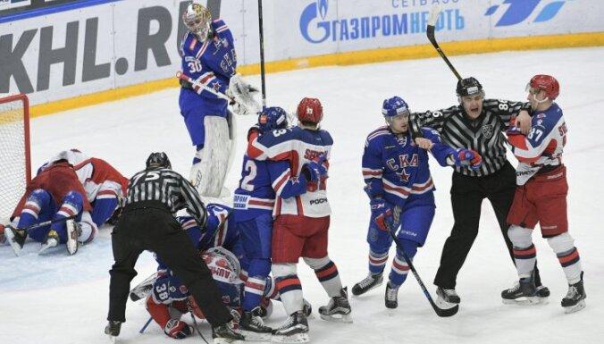 Ice hockey. KHL. SKA vs. CSKA