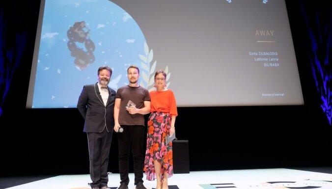 Jaunais režisors Zilbalodis iegūst balvu Eiropas nozīmīgākajā animācijas konkursā
