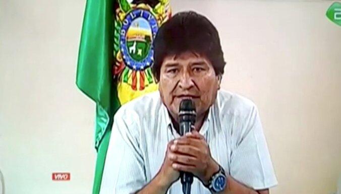 Kremļa kanāls RT piedāvā darbu bijušajam Bolīvijas prezidentam Moralesam