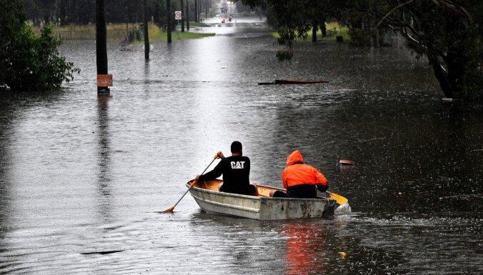 Наводнение в Австралии привело к эвакуации тысяч человек