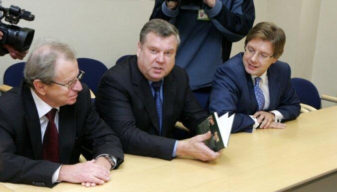 'Saskaņai' divi premjera amata kandidāti – Ušakovs un Urbanovičs