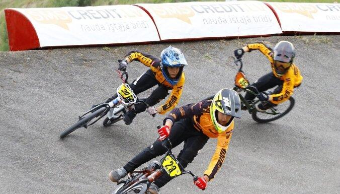 Ventspils trasē sekmīgi aizvadīts Latvijas BMX čempionāta otrais posms