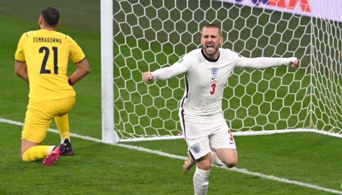 Англичанин Шоу забил самый быстрый гол в финалах ЕВРО — за 116 секунд