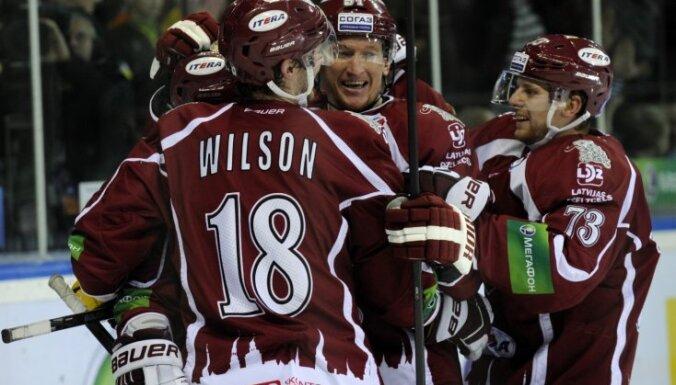 Rīgas 'Dinamo' sezonas pirmā daļa: toni nosaka leģionāri