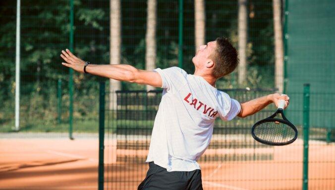 Latvijas tenisisti iespējami labākajā sastāvā sāks Deivisa kausa spēles