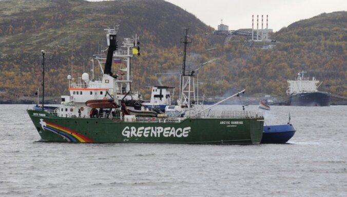 """Гаага взыскала с России 5,4 млн евро за задержание судна """"Гринписа"""""""