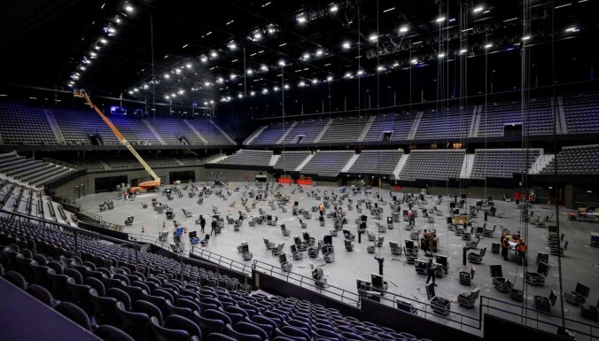 """В Роттердаме началось строительство сцены """"Евровидения"""""""