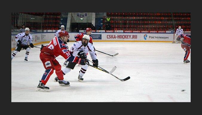 Krasnaya Armija - HK Riga, MHL