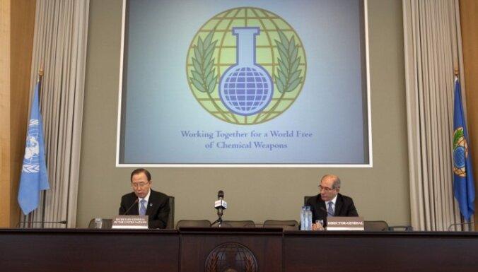 Latvija pirmo reizi ievēlēta Ķīmisko ieroču aizliegšanas organizācijas Izpildu padomē
