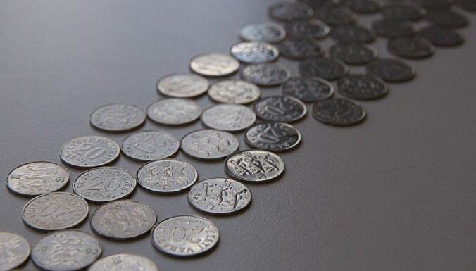 Dienas laikā Igaunijas Bankā nodots gandrīz pusmiljards kronu