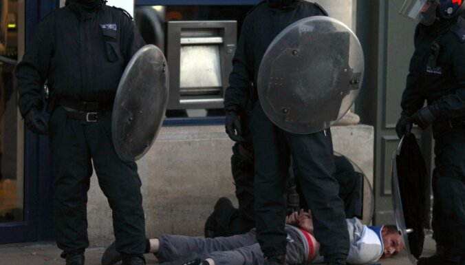 Britu policisti šokēti par vardarbības līmeni