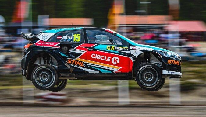 Nitišs septembrī priecēs pašmāju līdzjutējus 'World RX' Latvijas posmā