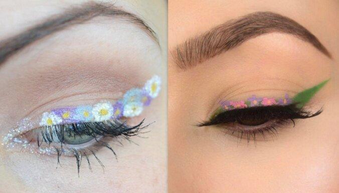 Ziedošais meikaps – pavasara fifīgākā aktualitāte skaistumkopšanā