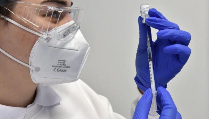 Sestdien Latvijā poti pret Covid-19 saņēmuši 309 cilvēki, šonedēļ ik dienu vidēji vakcinēti 1155